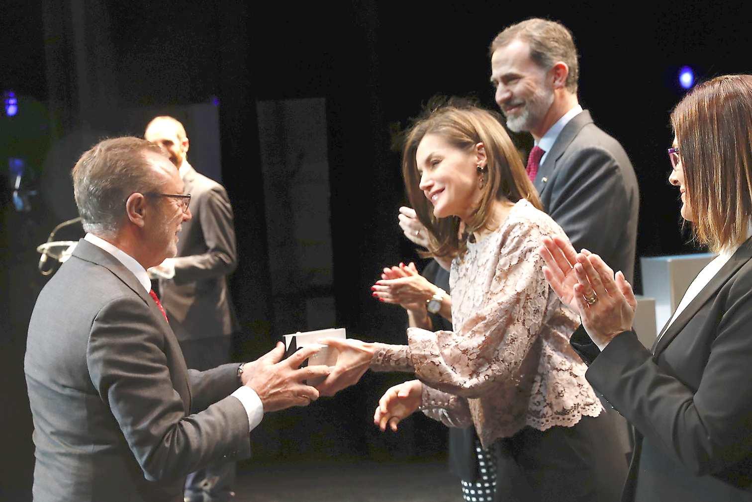 Els Reis d'Espanya entreguen a Actiu el Premi Nacional de Disseny