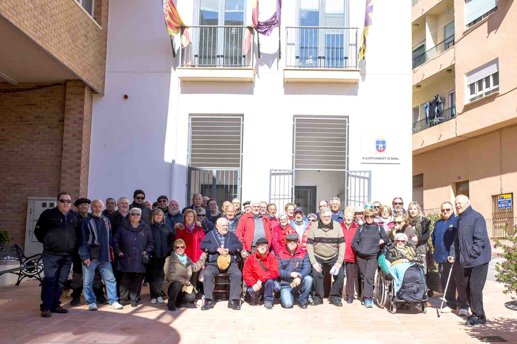 Pensionistas de España por su Dignidad convoca otra concentración en Onil para el lunes 12 de marzo
