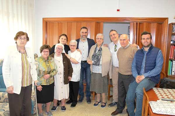 Despedida a las últimas monjas del Asilo tras más de 100 años de servicios de esta congregación en Ibi