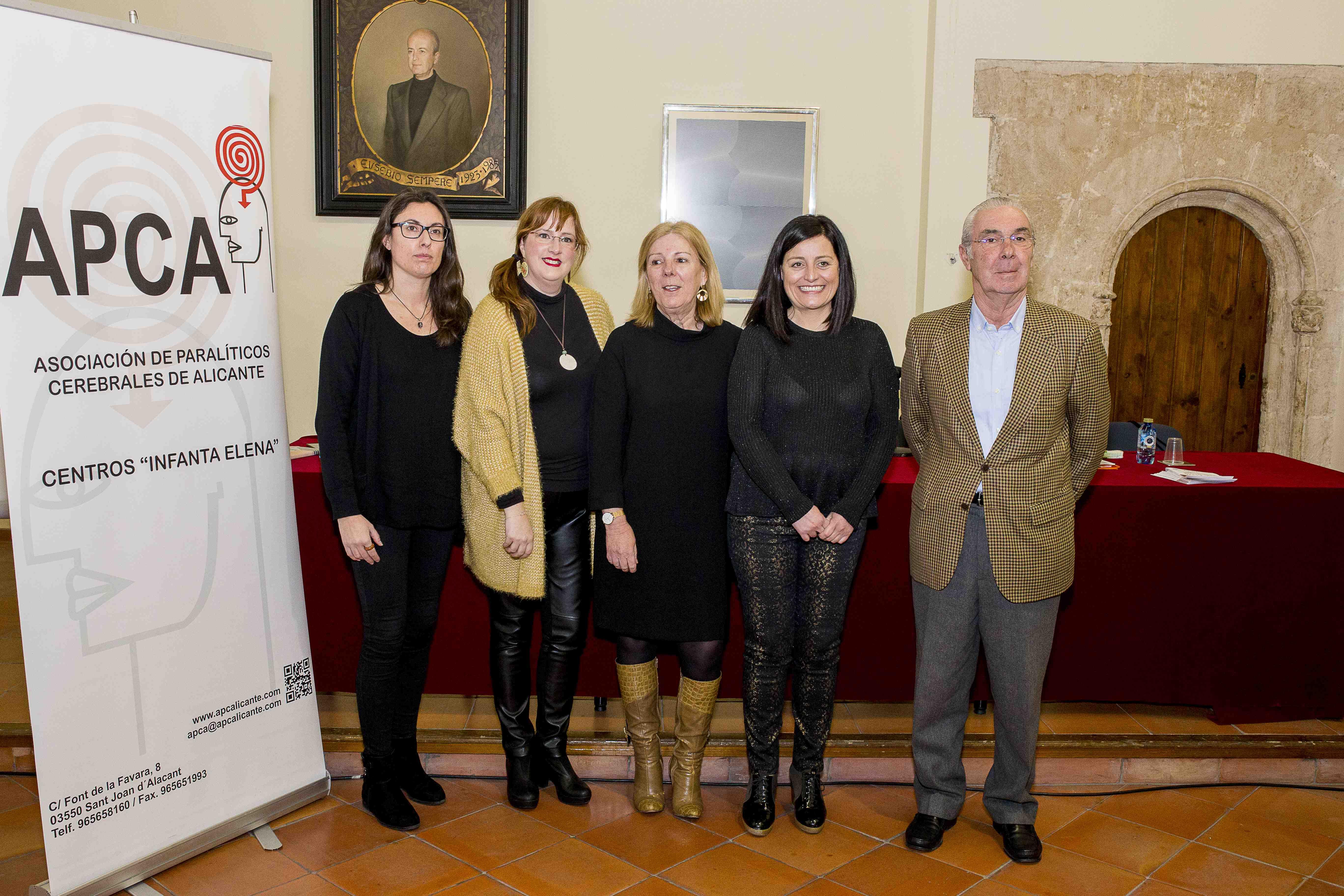 La Asociación de Paralíticos Cerebrales de Alicante y el Ayuntamiento de Onil presentan el futuro Centro de Atención Temprana