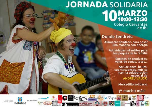 Jornada solidaria en Ibi para la ong PayaSOSpital