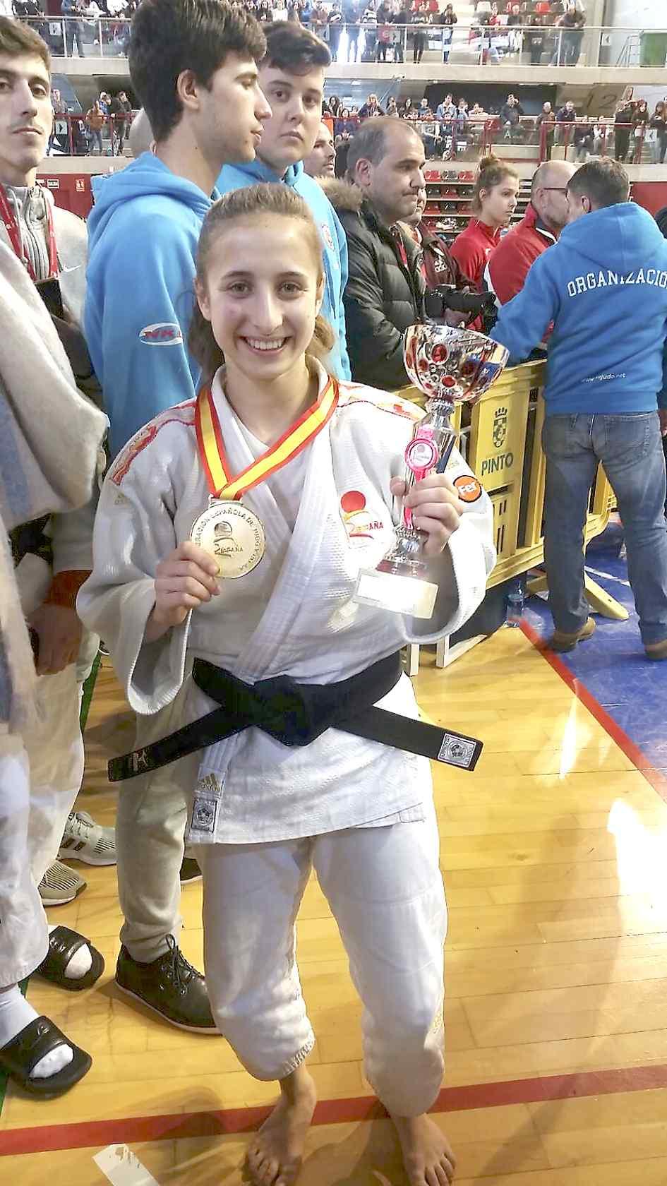 Mireia Rodríguez, de Castalla, repite como campeona de España de judo