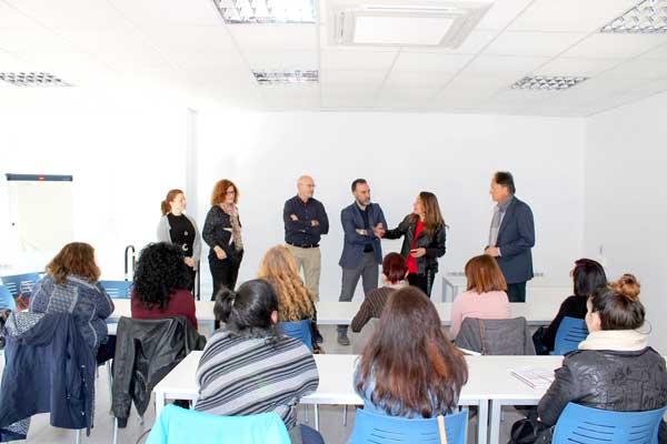 Comienza la escuela de empleo y formación 'Et Formem' en Ibi con 10 alumnos