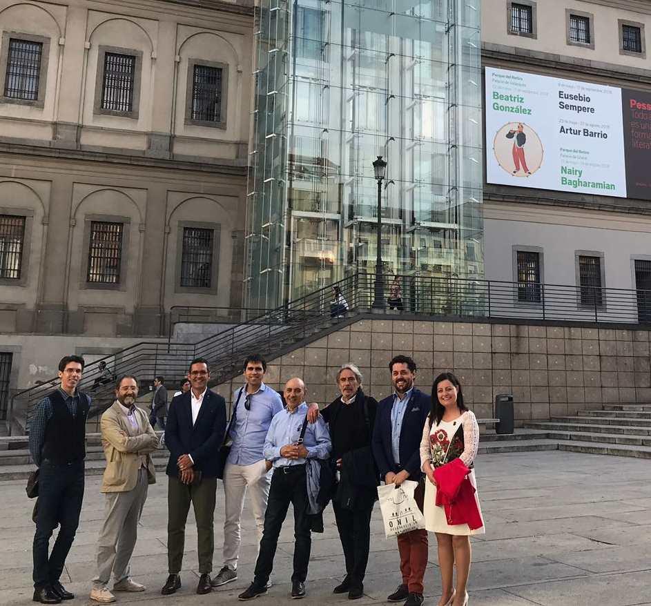 L'artista colivenc Eusebio Sempere, homenatjat en el Museu Reina Sofía de Madrid