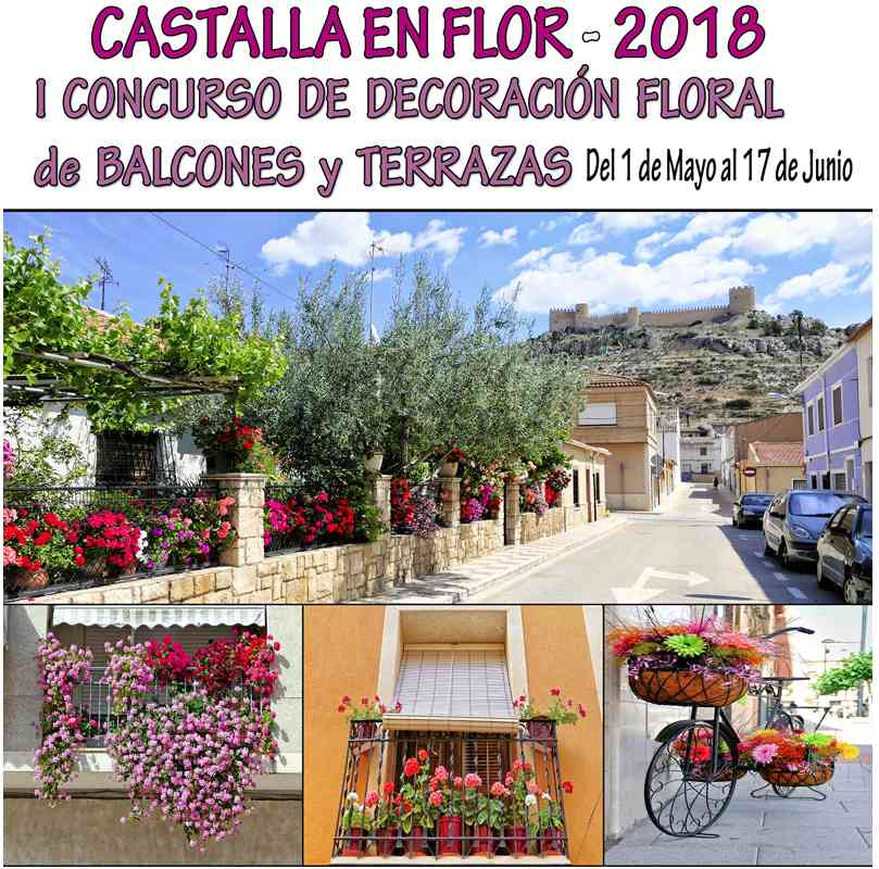 Entrega de premios del primer concurso 'Castalla en flor'