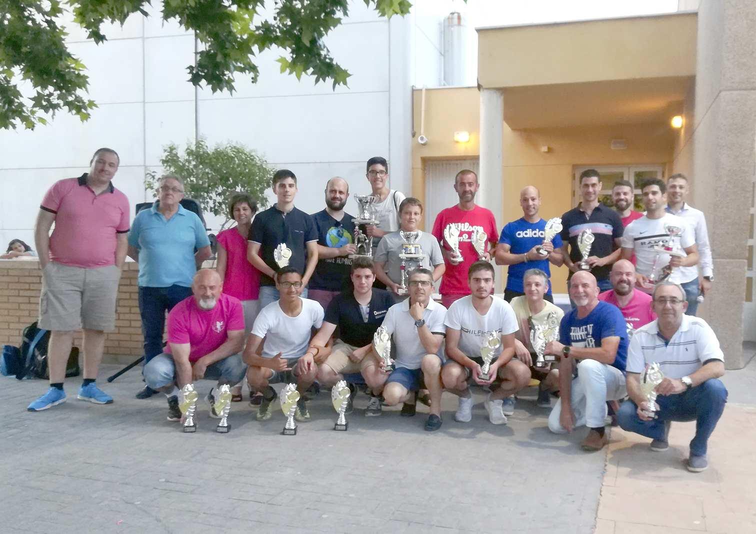 Las Jornadas Deportivas de Castalla congregan a unos 300 participantes