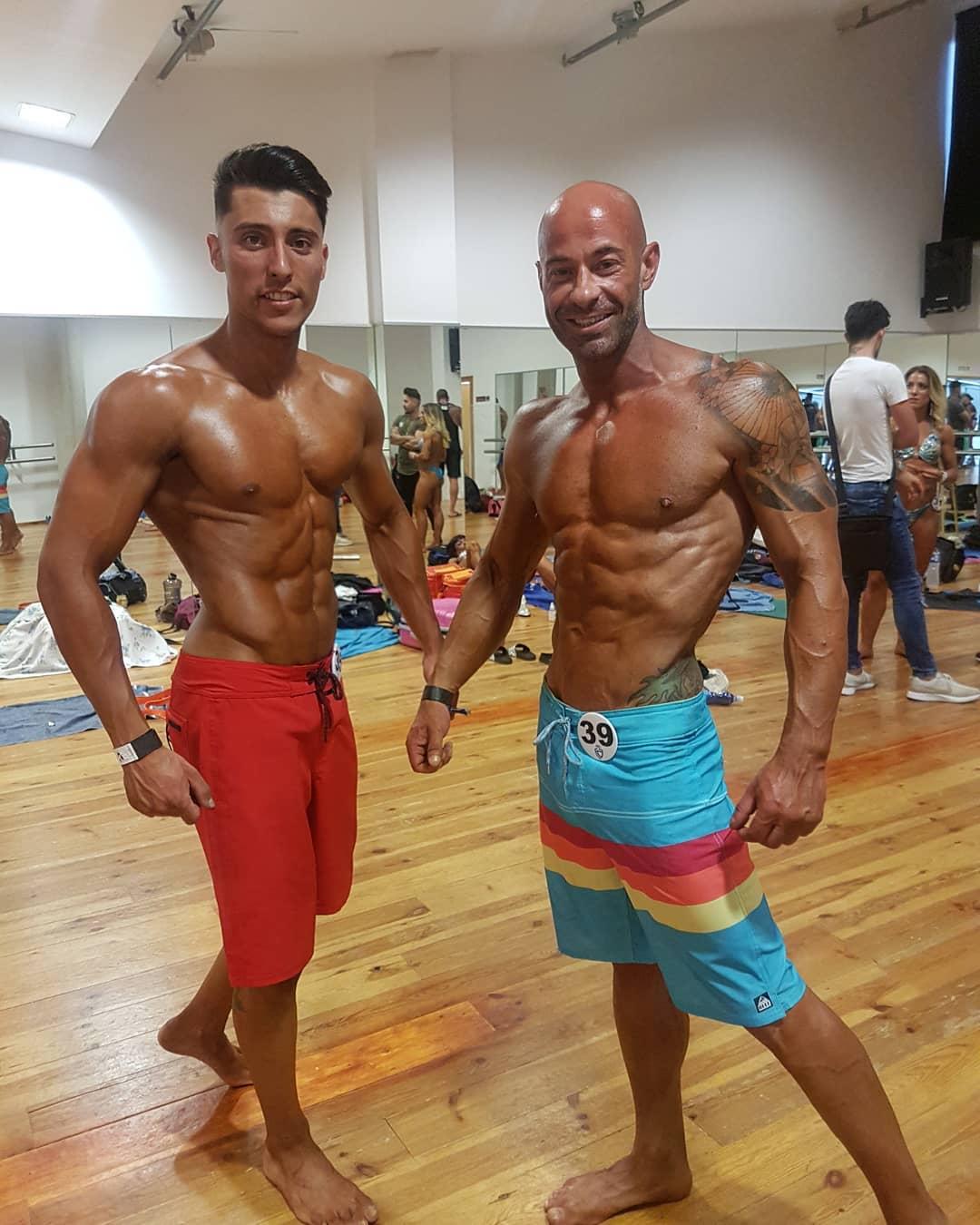 Els iberuts Juanjo Mira i Salva Benito es proclamen subcampions d'Espanya de fisicoculturisme-fitness