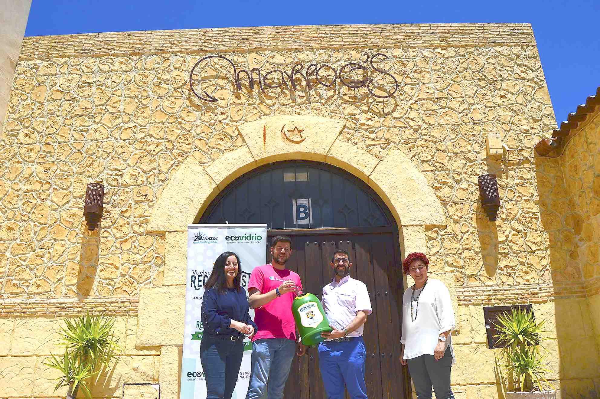La comparsa Marroc's d'Onil guanya la campanya de reciclatge