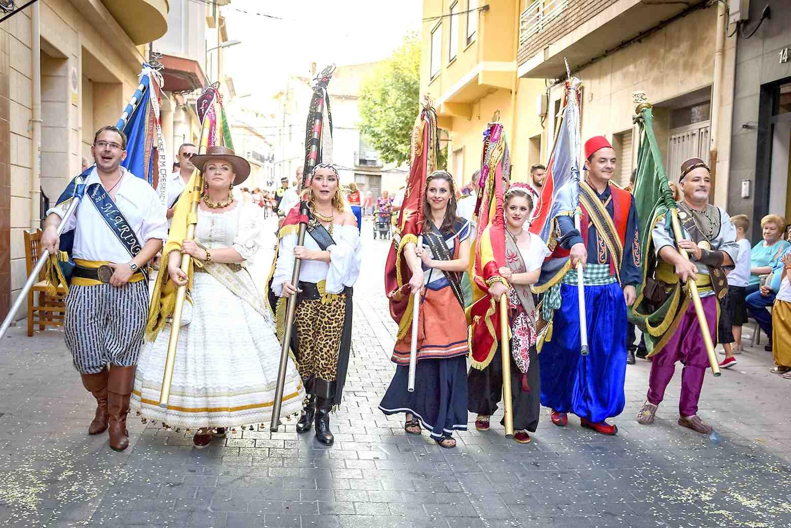 Sant Jaume anuncia que falta un mes per a les Festes de Castalla