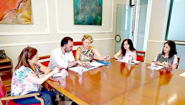 Ibi continua amb les gestions per a la construcció del geriàtric