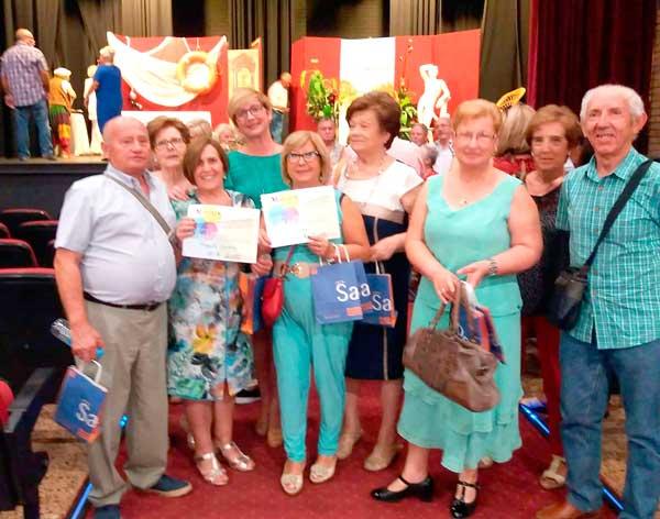 Dos premis de teatre per al grup Frenesí de la Llar del Pensionista