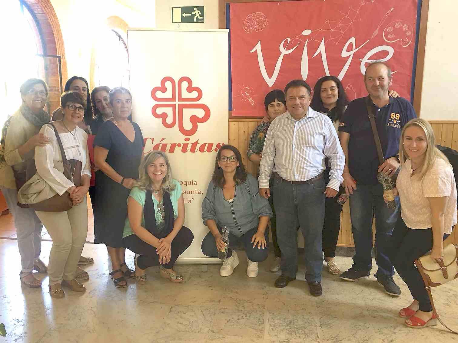 Un centenar de delegats de Cáritas Diocesana participa en un encontre a Castalla