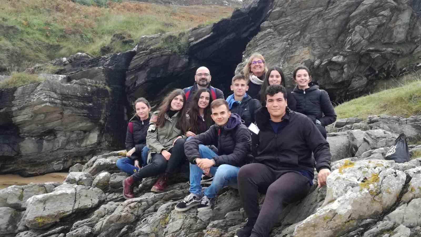 Alumnes i professors de l'IES La Creueta d'Onil visiten Irlanda dins el programa Erasmus+