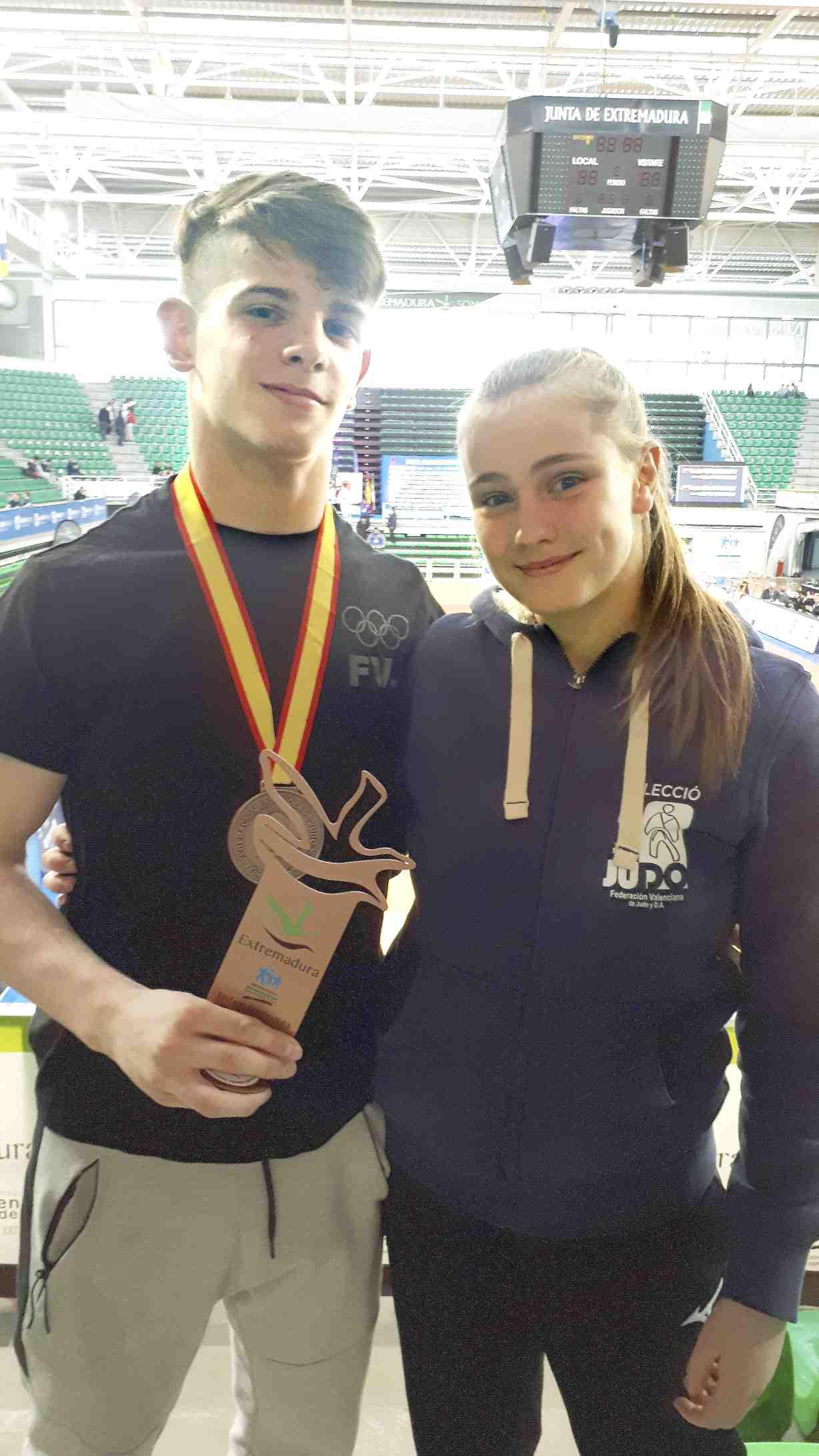 El castellut Jaume Bernabeu, medalla de bronze en el Campionat d'Espanya Sènior de Judo
