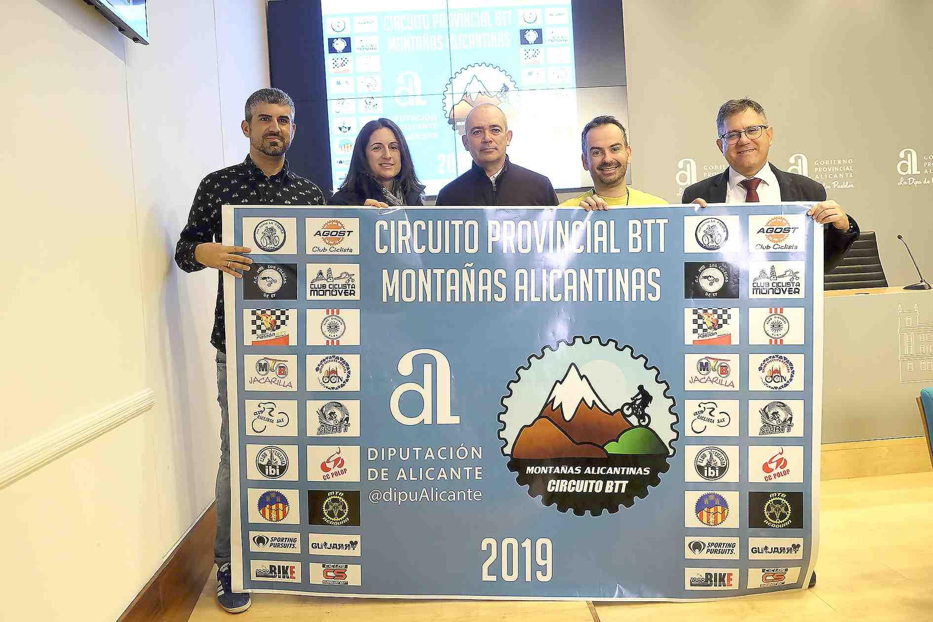 La Diputación impulsa el ciclismo de montaña con la creación de un Circuito Provincial de BTT