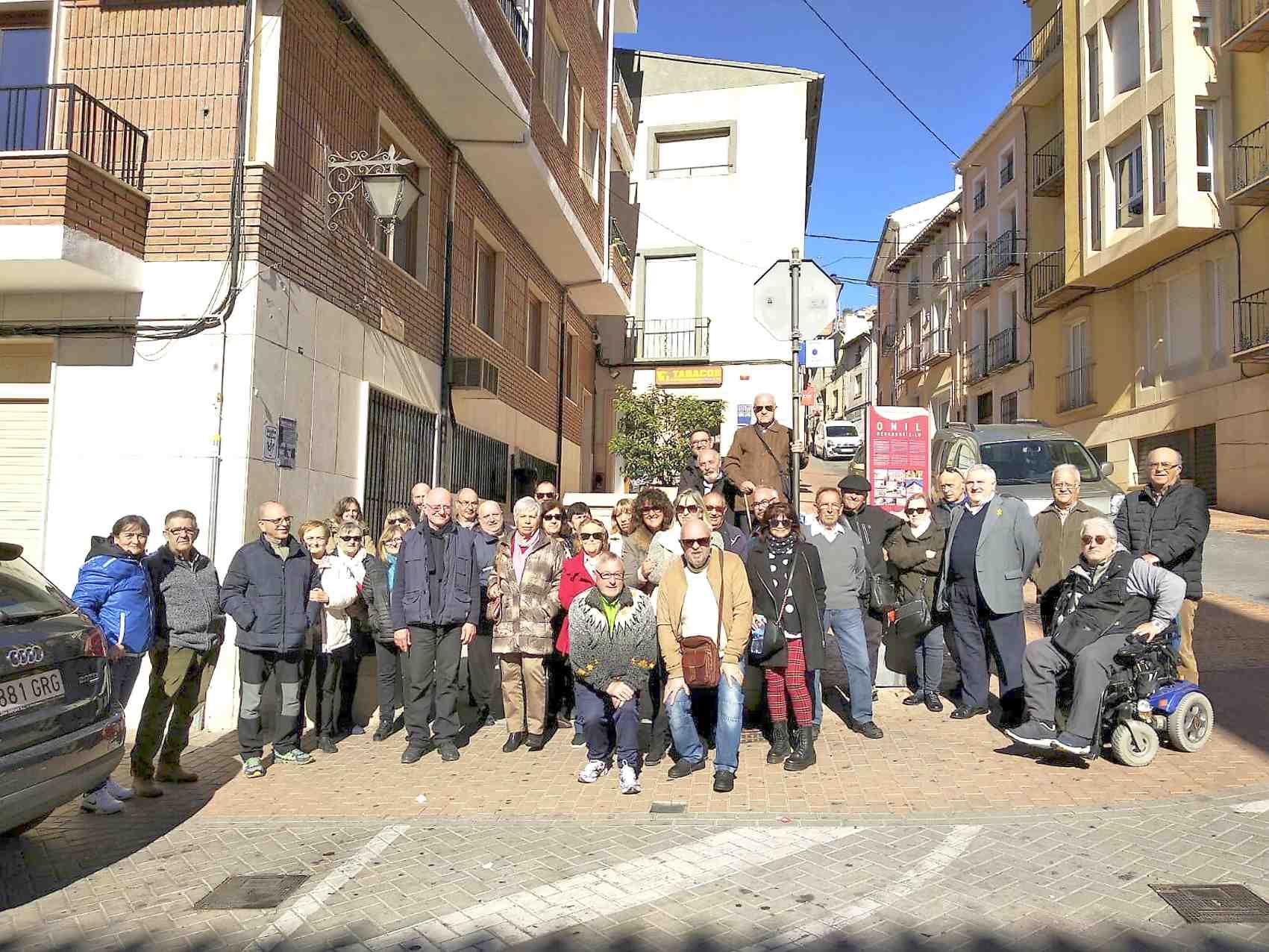 Nova protesta del col·lectiu de jubilats d'Onil per una pensió digna