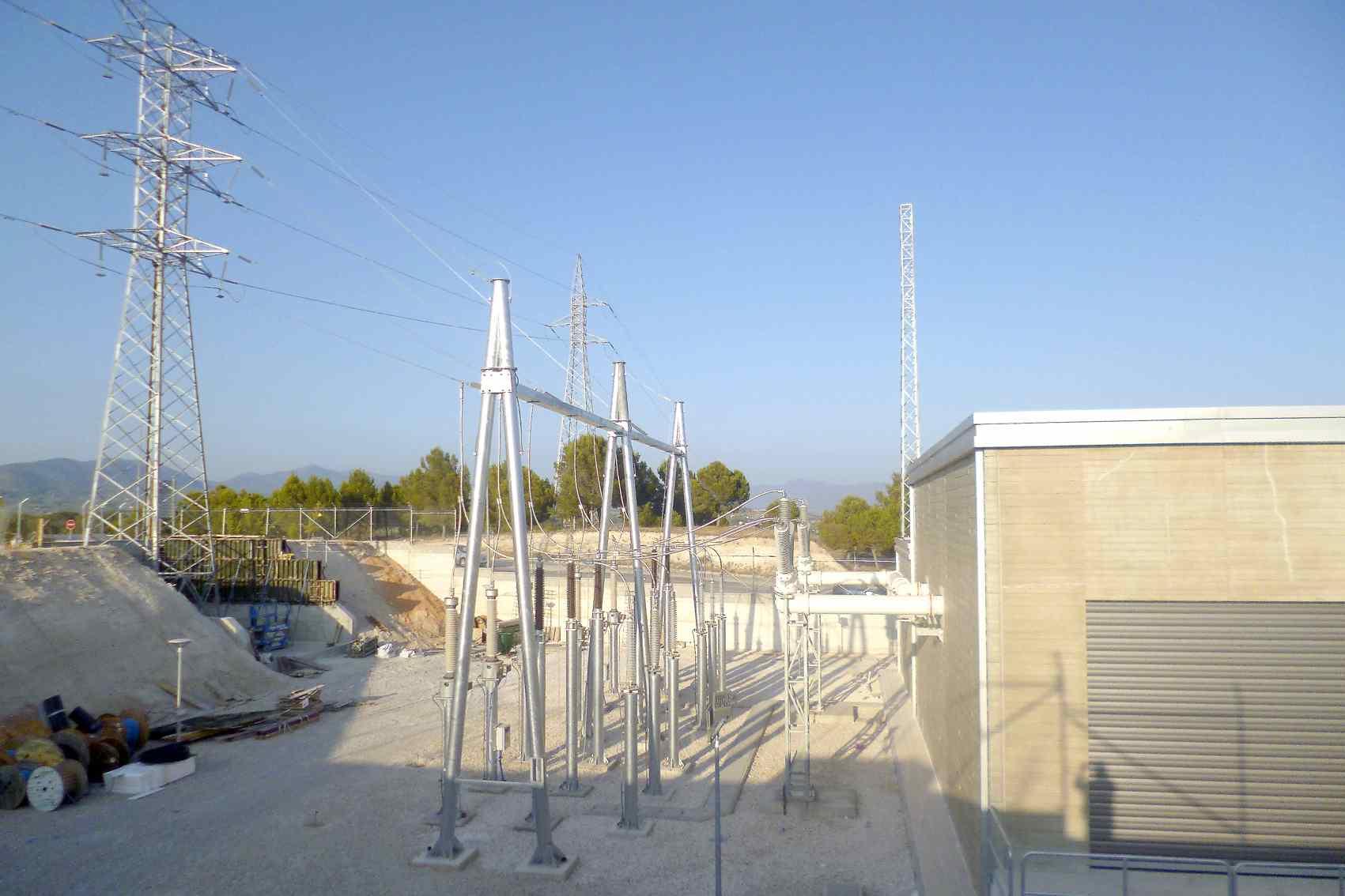 El tram de la línia de 132 kV per a la segona subestació elèctrica de Castalla afectarà 38 parcel·les