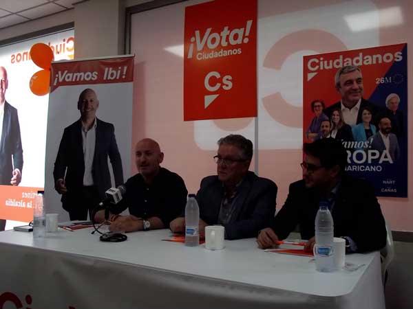 Los candidatos de Cs en la comarca se comprometen a crear servicios mancomunados
