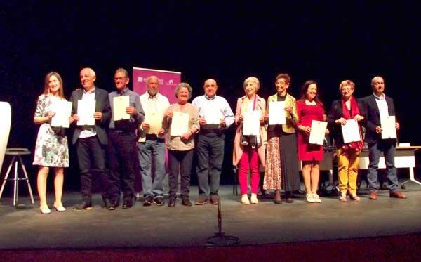 Alumnes de sis municipis clausuren el curs de les AUNEX a Ibi