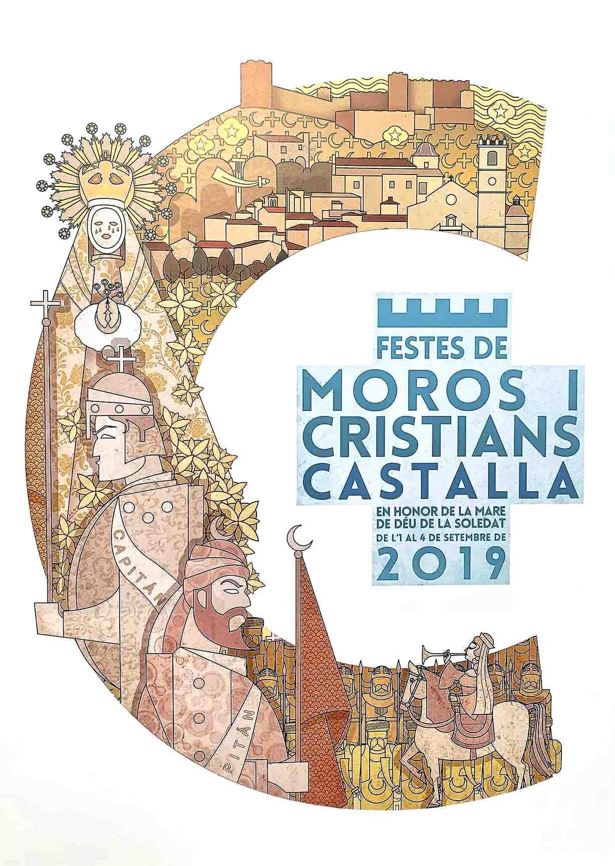 Les Festes de Castalla ja tenen cartell oficial, obra del castellonenc Juan Diego Ingelmo