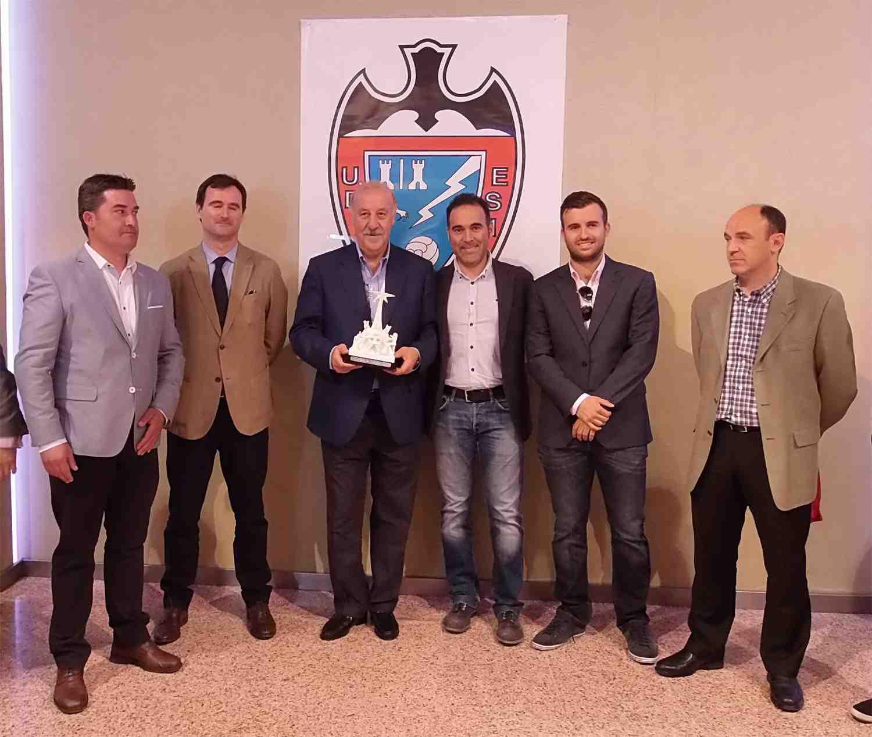 La Universitat d'Alacant guardonarà a Vicente del Bosque amb el Llorer d'Or