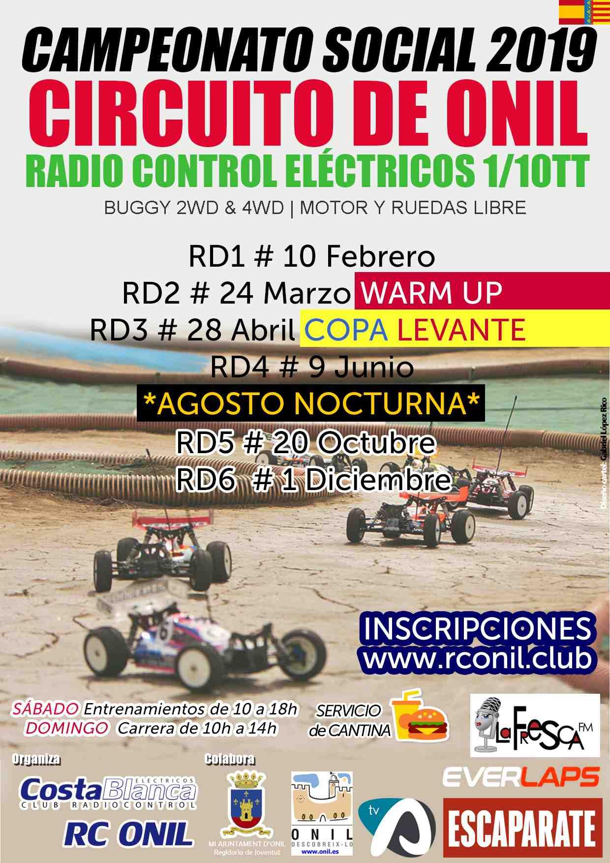 El diumenge 9 de juny, nova prova del Campionat Social de Radiocontrol en el circuit d'Onil