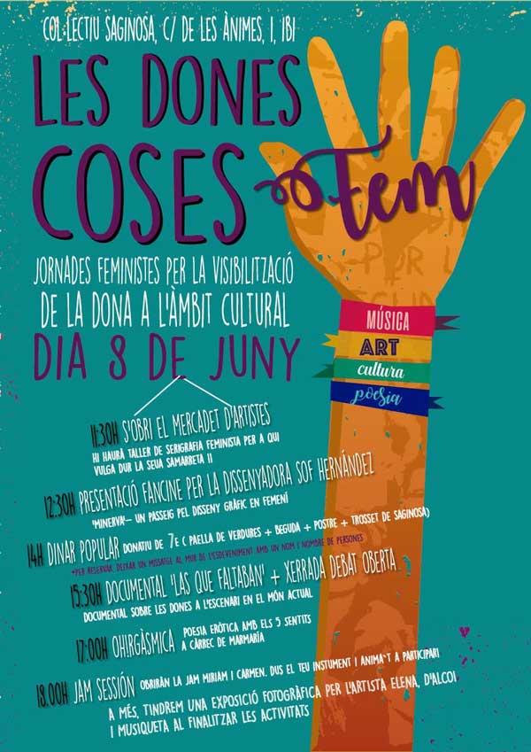 El col.lectiu Saginosa organitza unes jornades feministes