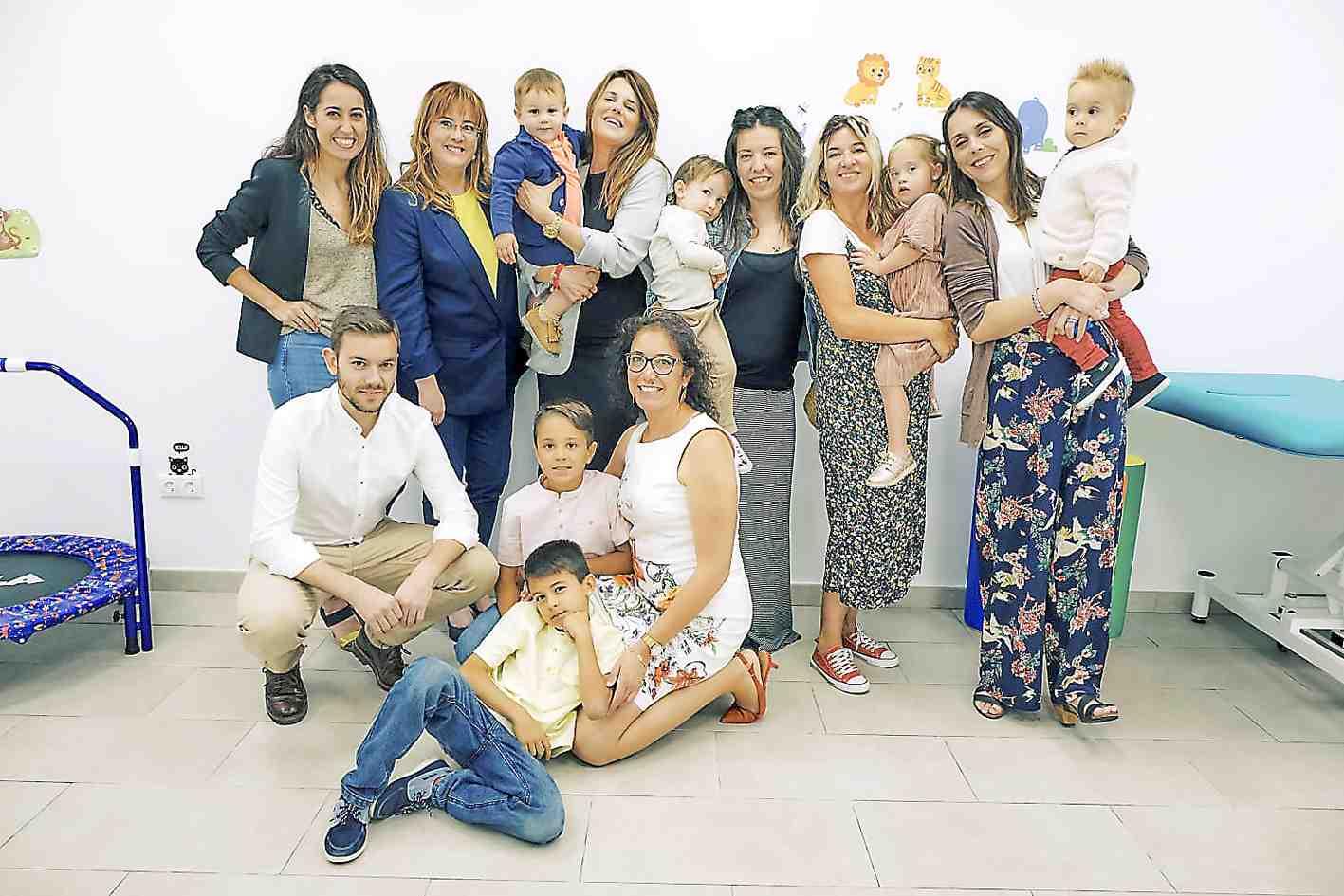 La Asociación de Paralíticos Cerebrales de Alicante abre en Onil el Centro de Atención Temprana 'Infanta Elena'