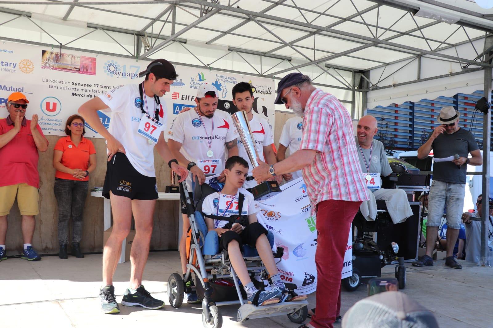 L'equip de Cumbres sin Barreras es proclama subcampió del Món de cadira Joëlette