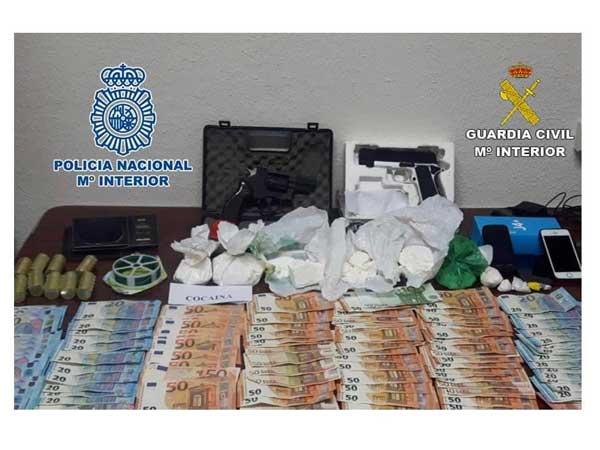 Desarticula una organización dedicada al tráfico de drogas en Ibi, Alcoy y Muro