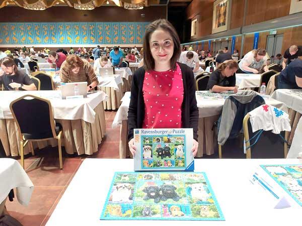 Soraya Pérez,  logra el tercer puesto en el Campeonato de España de puzles