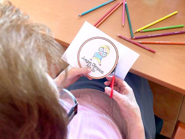 La asociación de Alzheimer de Ibi organiza las I Olimpiadas