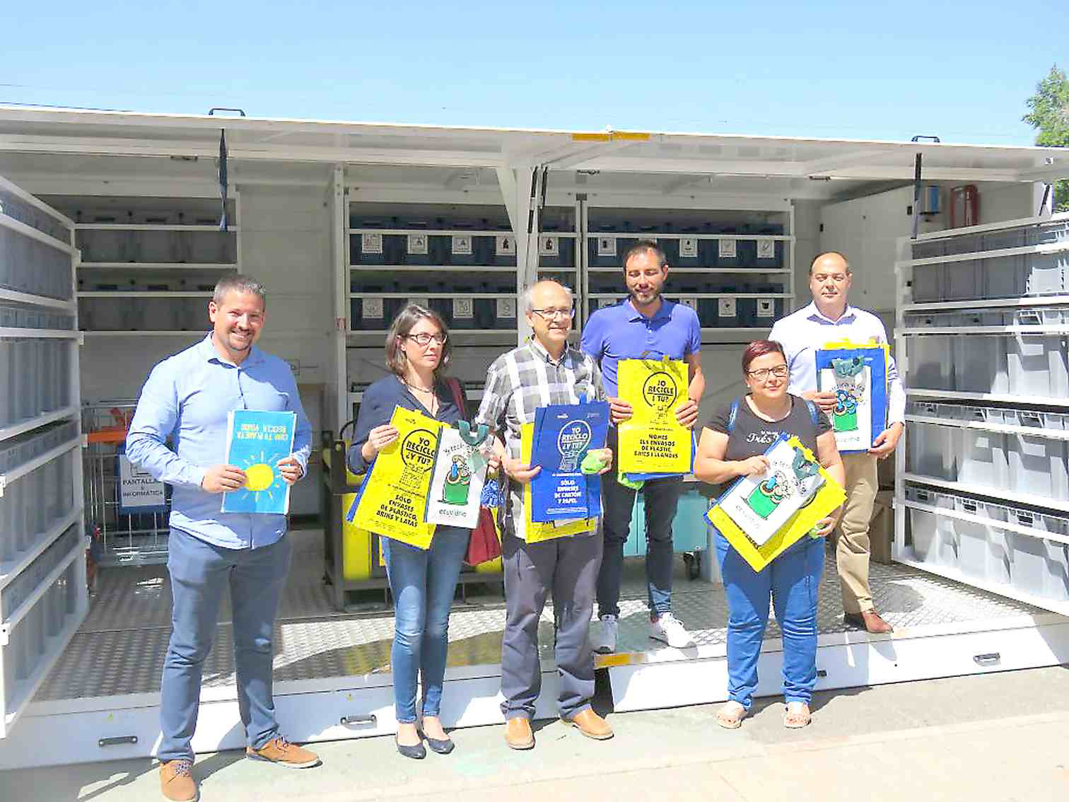 Castalla, Onil i Biar reben la visita d'un Ecoparc Mòbil cada setmana