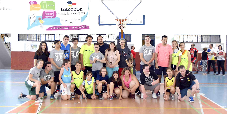 El CD Onil celebra una jornada de bàsquet inclusiu amb la participació dels centres Sant Pasqual i Sanchis Banús