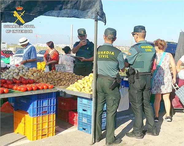 El equipo Roca de Ibi esclarece 13 delitos de robo y hurto en explotaciones agrícolas y ganaderas