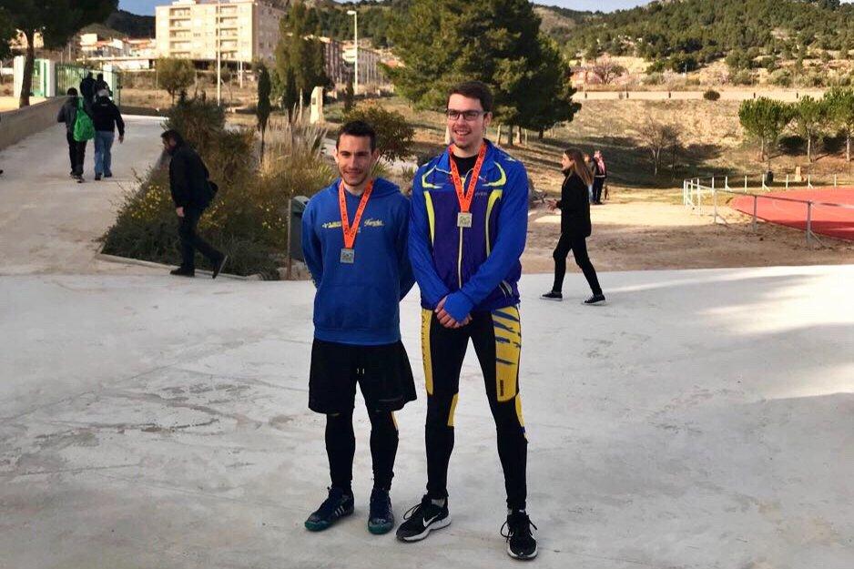 El atleta ibense Pablo Roelas compite hoy y mañana en el Campeonato de España de Atletismo en la categoría Sub20