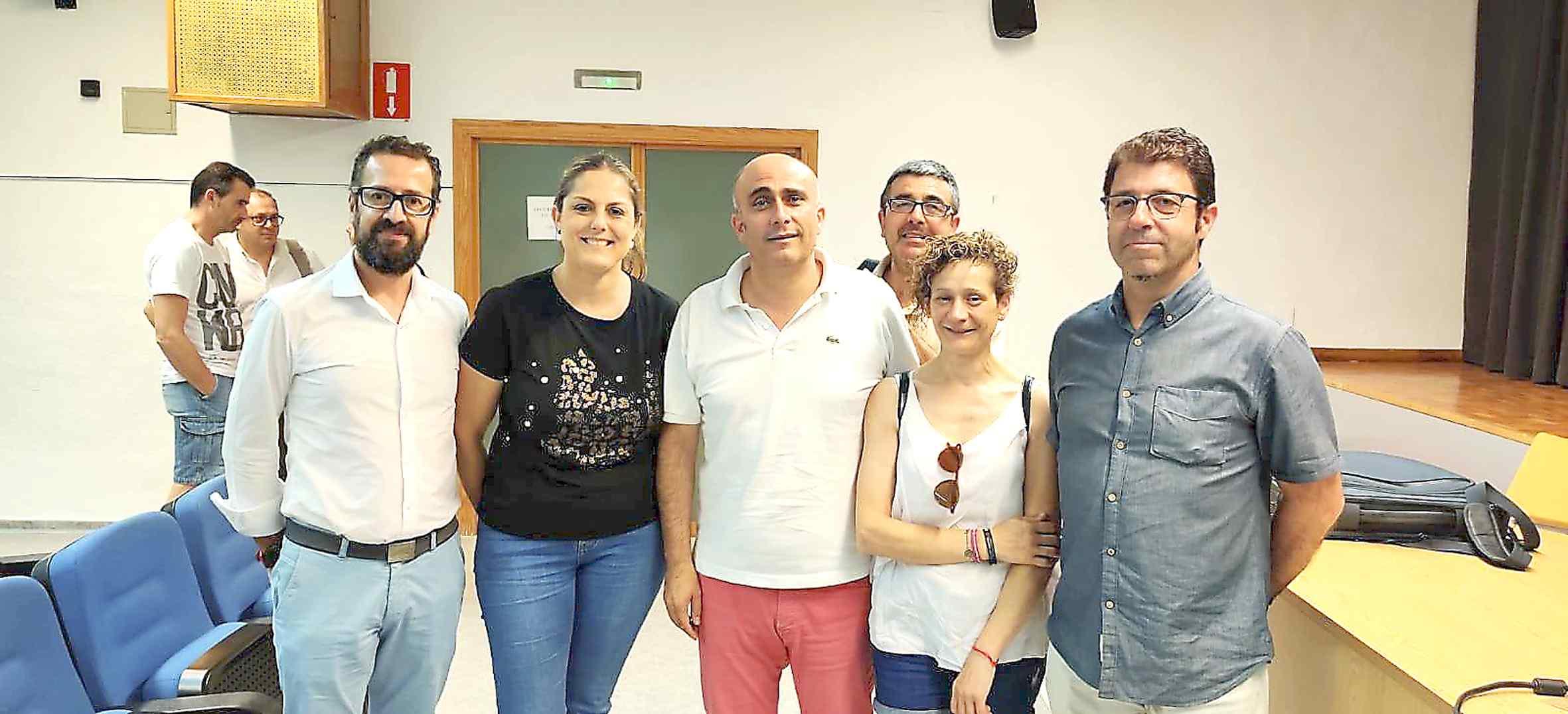Mª Carmen Quiles relleva José Luis Borrás al capdavant del CB Teixereta