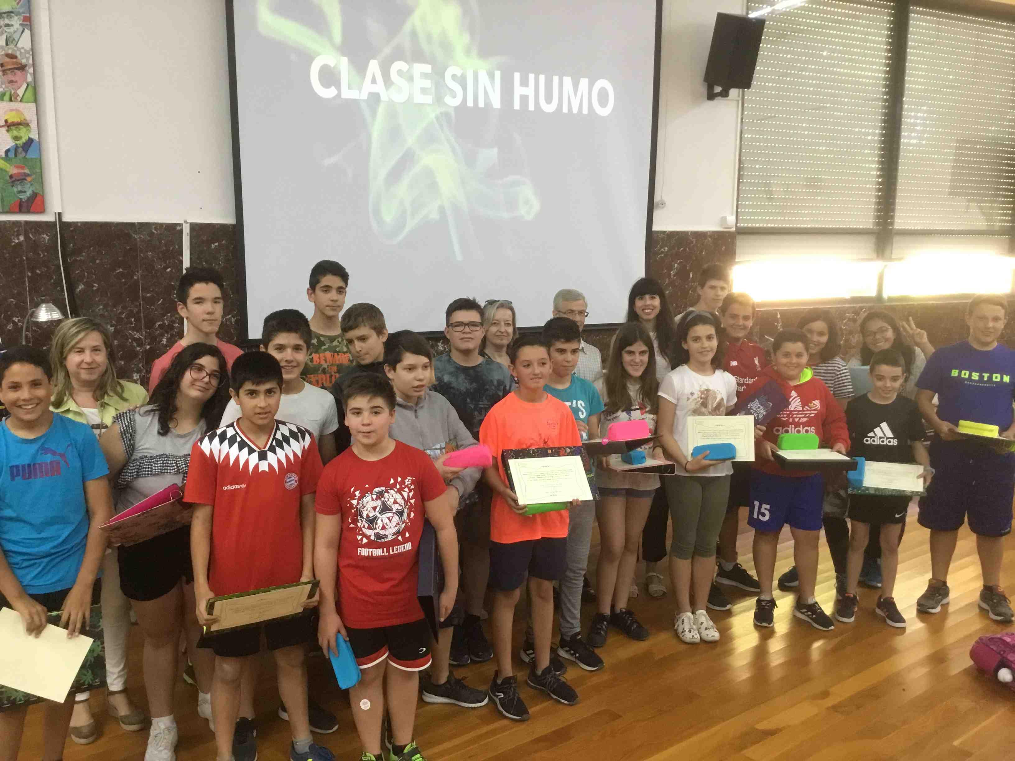 Un curtmetratge fet per alumnes de l'IES Enric Valor de Castalla guanya el Concurs Europeu Classes sense fum