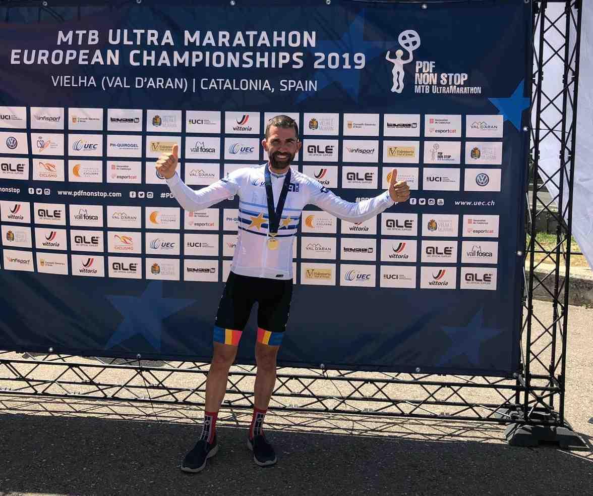 Víctor Godoy gana el Ultramaratón de MTB y se proclama campeón de Europa