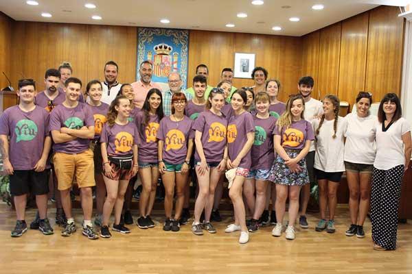 Bienvenida a los voluntarios del Campo de Trabajo Internacional de Ibi