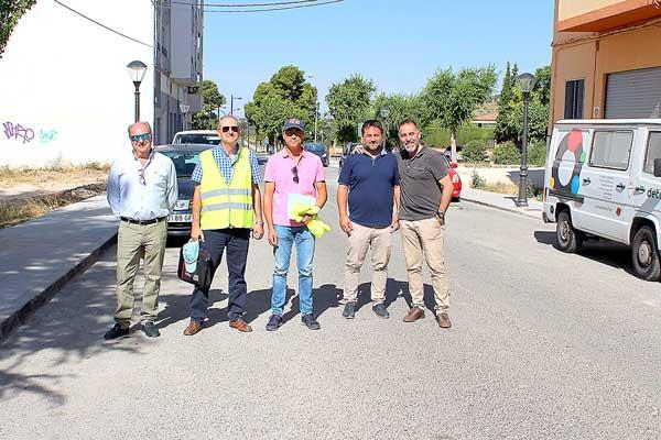 Concluyen las obras de reparación de la red de agua en la avenida de la Paz