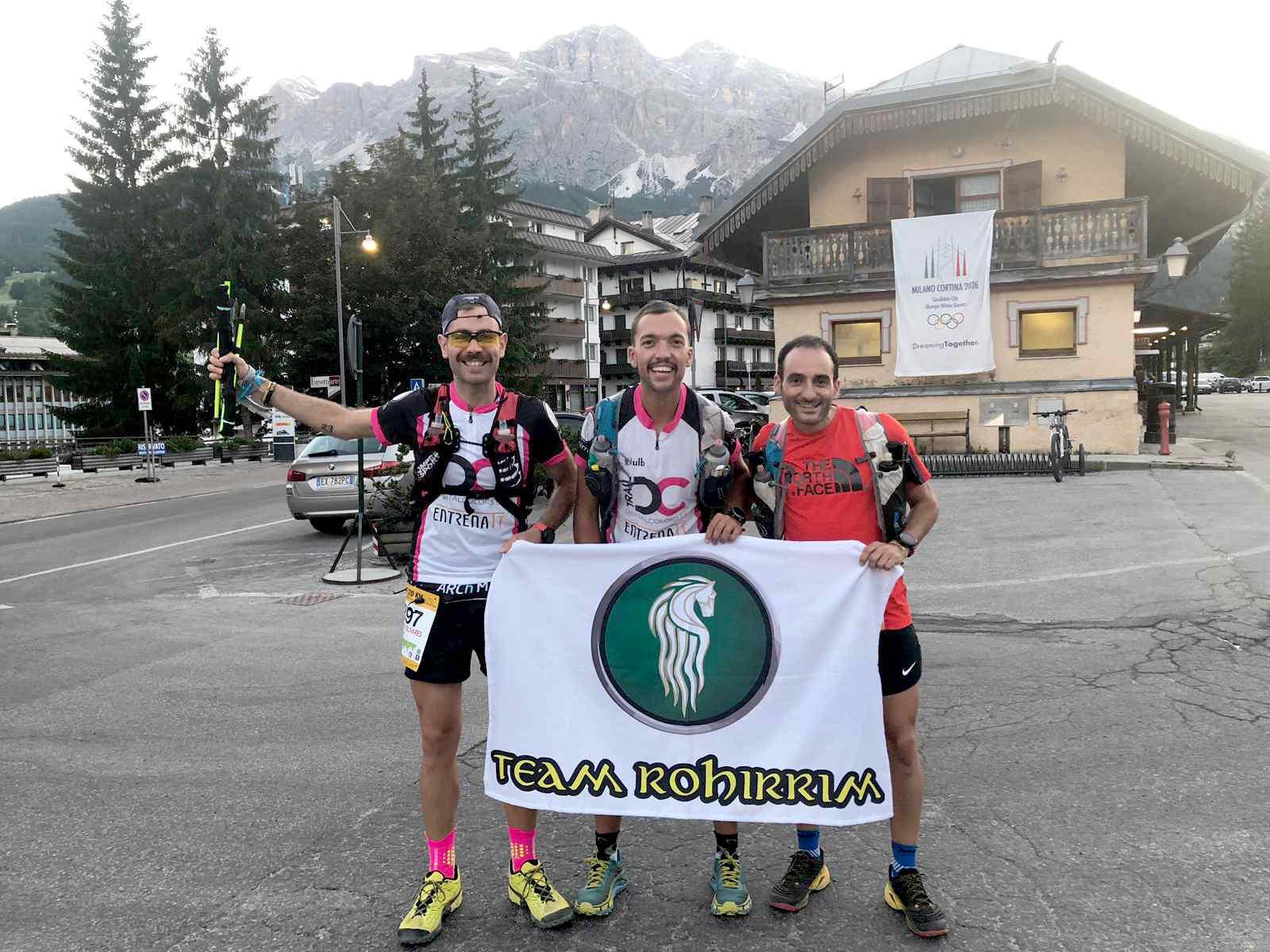 Tres iberuts del Club Team Rohirrim participen en la Lavaredo Ultra Trail en els Dolomites italians