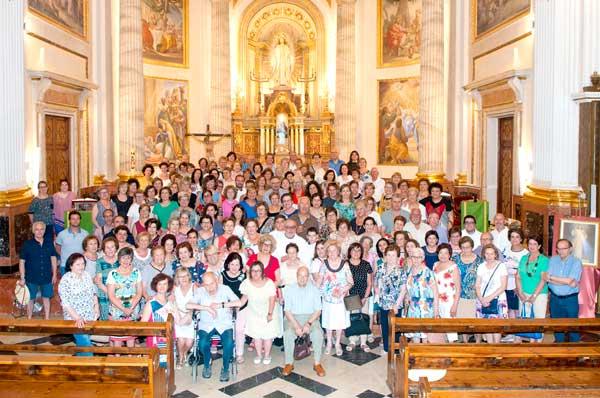 El rector de la Transfiguració del Senyor d'Ibi celebra un quart de segle de sacerdoci