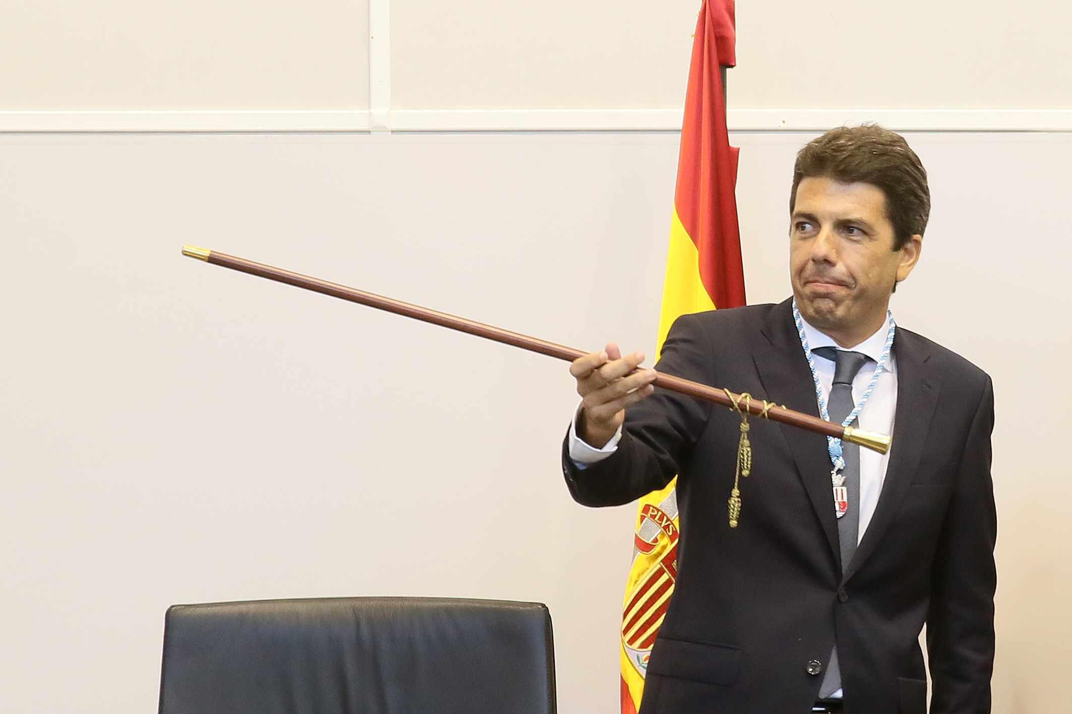 Carlos Mazón (PP), nou president de la Diputació Provincial d'Alacant