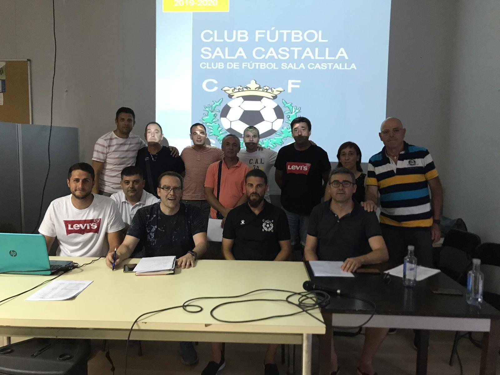 Carlos Ferrandis repite al frente de la nueva directiva del CFS Castalla