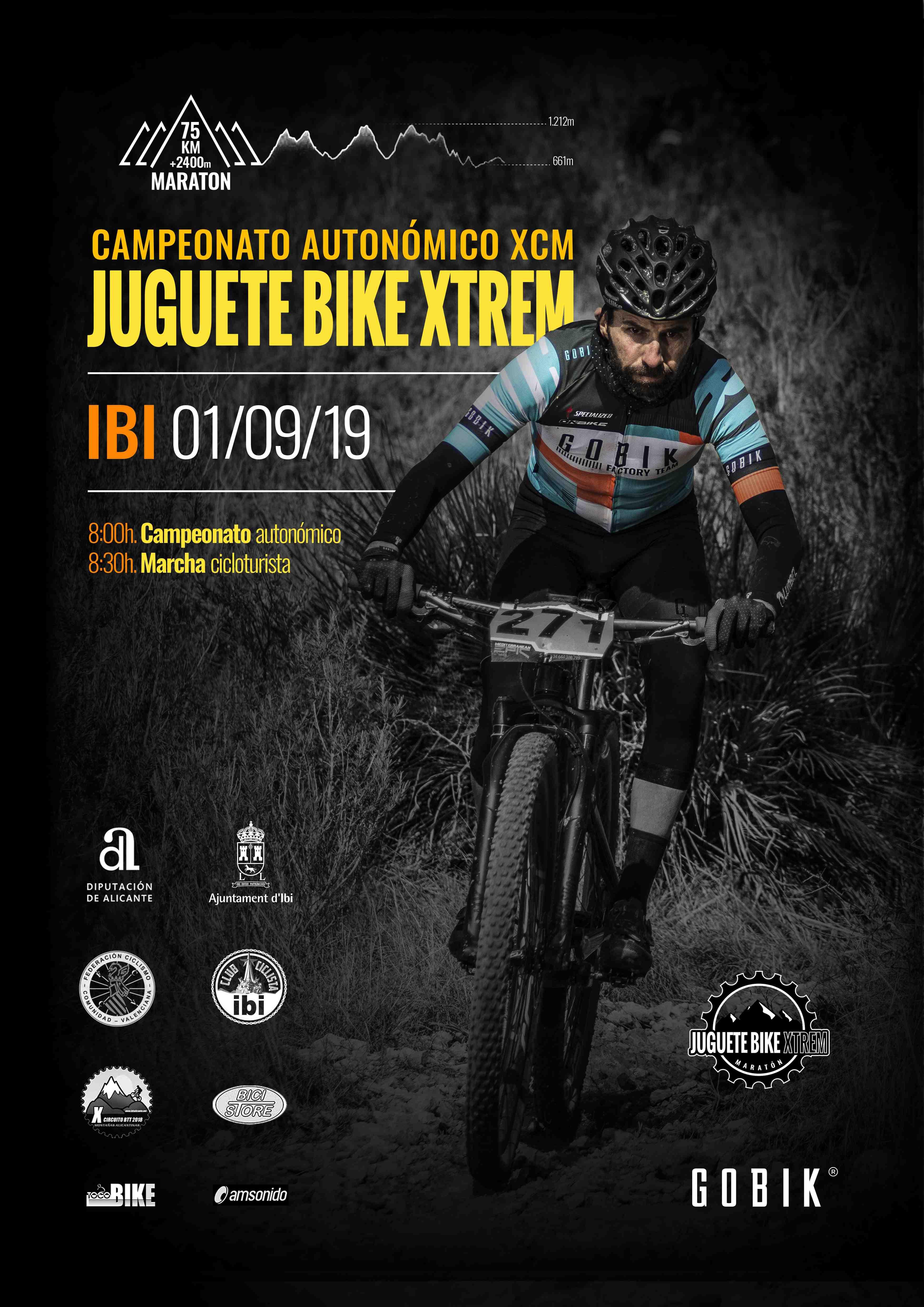 El Club Ciclista Ibi organiza el Campeonato Autonómico XCM 'Juguete Bike Xtrem'