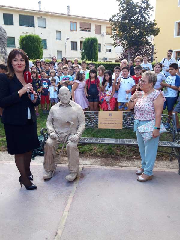 Homenatge del poble de Biar a un veí molt volgut