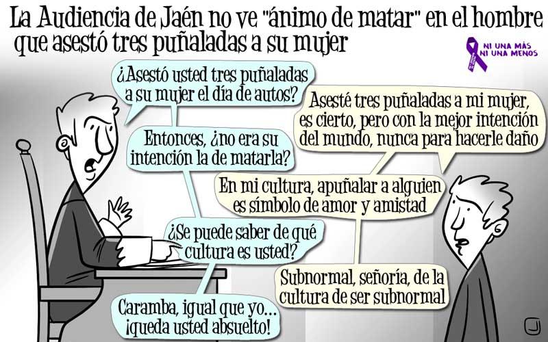 La Audiencia de Jaén no ve