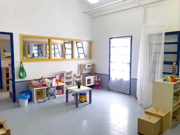 El col.legi de Tibi compta enguany en una aula per a xiquets de dos anys
