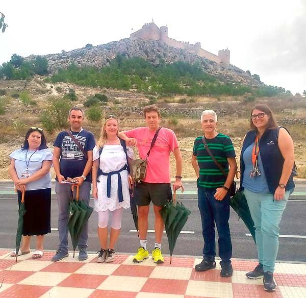 Periodistas de Alemania y Armenia visitan Castalla